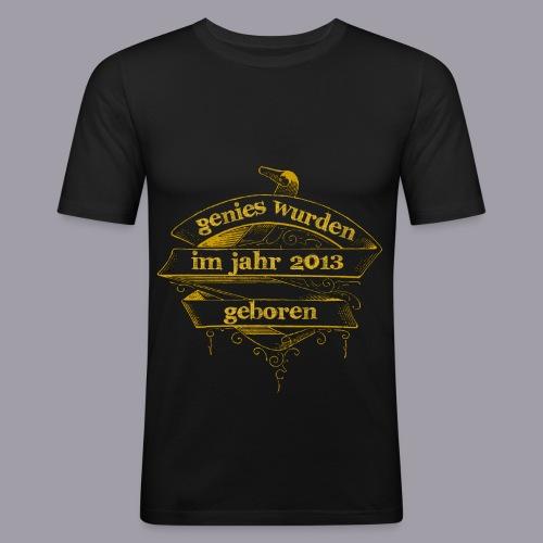 Genies wurden im Jahr 2013 geboren - Männer Slim Fit T-Shirt