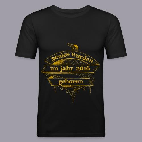 Genies wurden im Jahr 2016 geboren - Männer Slim Fit T-Shirt