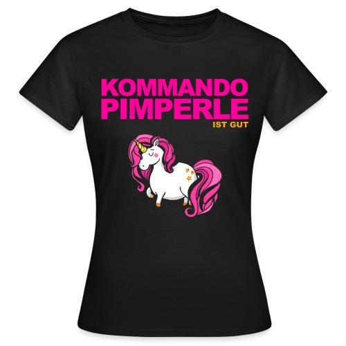 Pinkes Einhorn - Frauen - Frauen T-Shirt