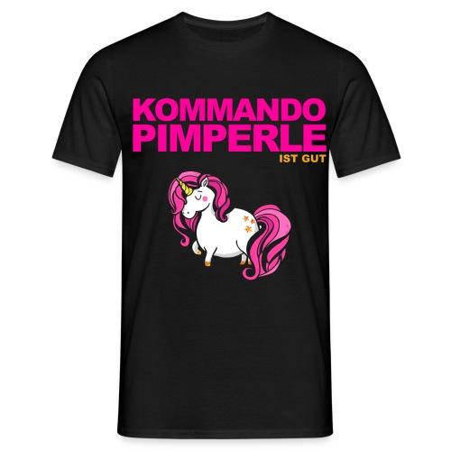 Pinkes Einhorn - Männer - Männer T-Shirt