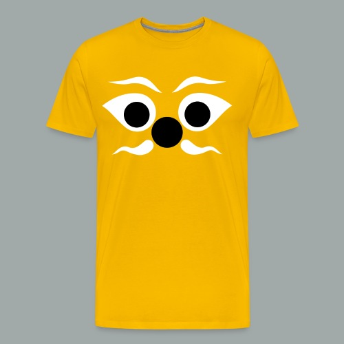 Aerodrome Tees - Voss (yellow) - Men's Premium T-Shirt
