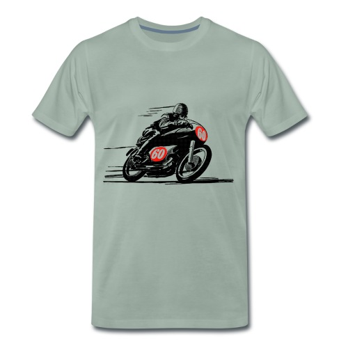 Cafe Racer Sixty - Männer Premium T-Shirt