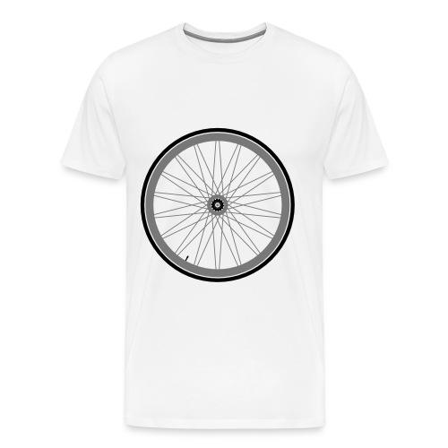 Roue de vélo - T-shirt Premium Homme