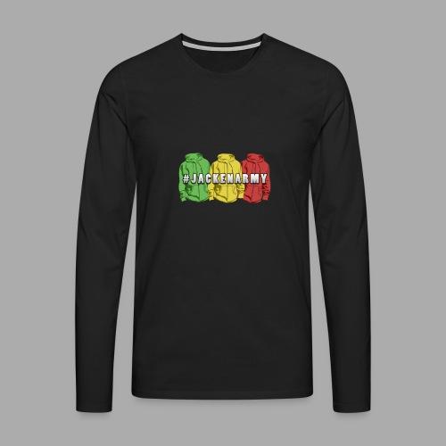 #JACKENARMY Shirt - Männer Premium Langarmshirt