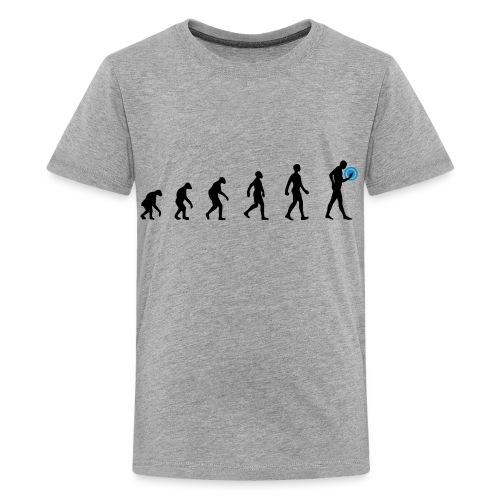 Human Evolution Tröja - Premium-T-shirt tonåring