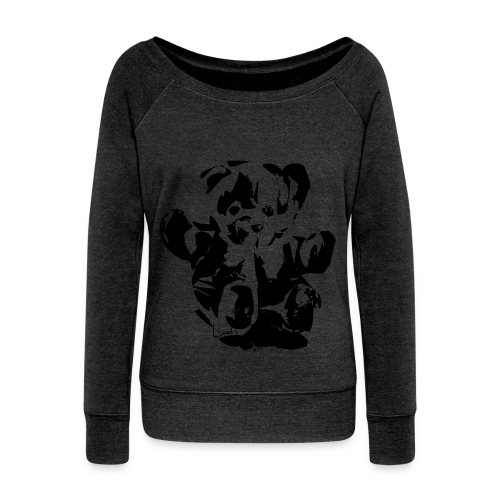 Little Bear Top made in USA - Frauen Pullover mit U-Boot-Ausschnitt von Bella
