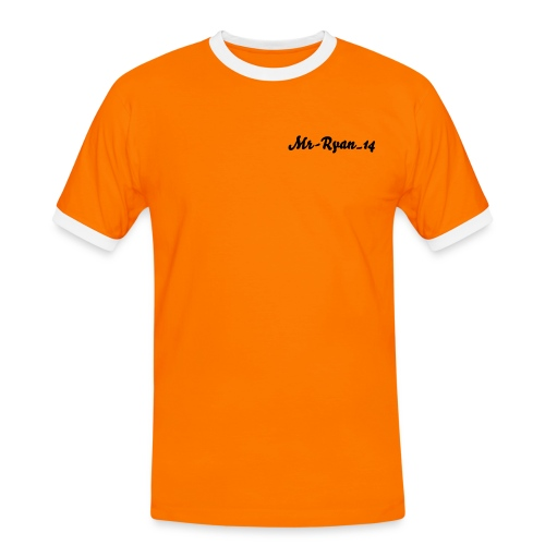 Orange Mr-Ryan_14 Ringer Shirt - Men's Ringer Shirt