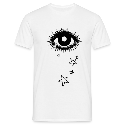 T-shirt Homme - tears,star,eye
