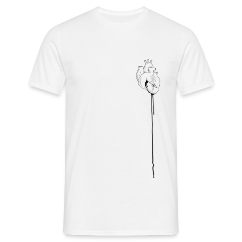 T-shirt Homme - heart,blood,arrow