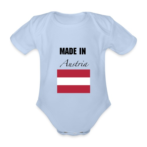 Made in Austria Body - Baby Bio-Kurzarm-Body