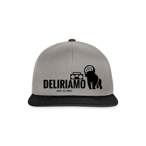 DELIRIAMO CAP - Snapback Cap