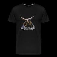 T-shirts ~ Herre premium T-shirt ~ DEN FALDNE DJÆVEL