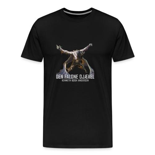 DEN FALDNE DJÆVEL - Herre premium T-shirt