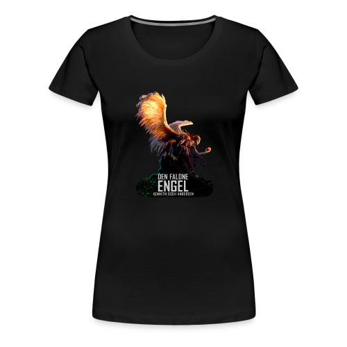 DEN FALDNE ENGEL - Dame premium T-shirt