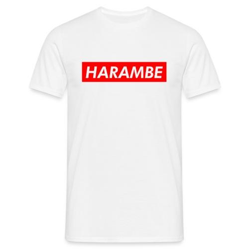 Harambe t-shirt - Herre-T-shirt