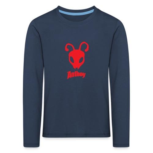 ANTBOY T-SHIRT - Børne premium T-shirt med lange ærmer