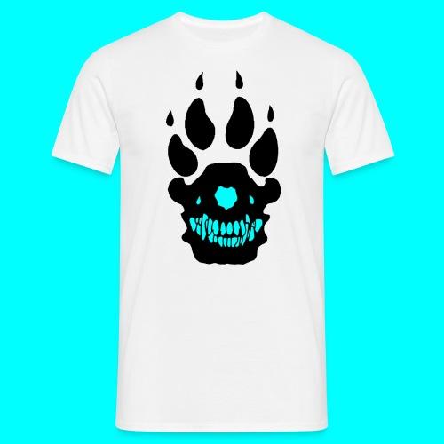 suTi-paita (musta/turkoosi logo) - Miesten t-paita