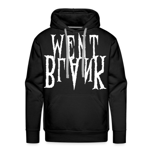 Went Blank // No Backprint - Männer Premium Hoodie