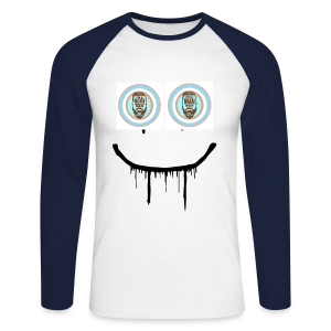 #SmileBB - T-shirt baseball manches longues Homme
