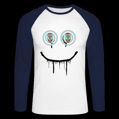 #SmileBB - T-shirt baseball manches longues Homme