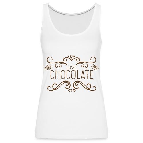 I Love Chocolate Débardeurs - Débardeur Premium Femme