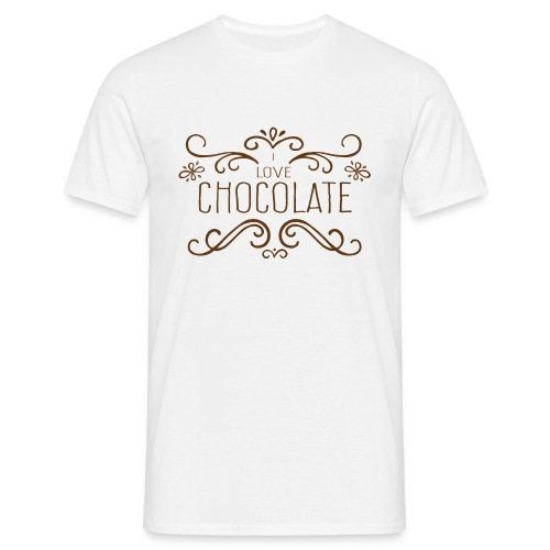 I Love Chocolate Tee shirts - T-shirt Homme
