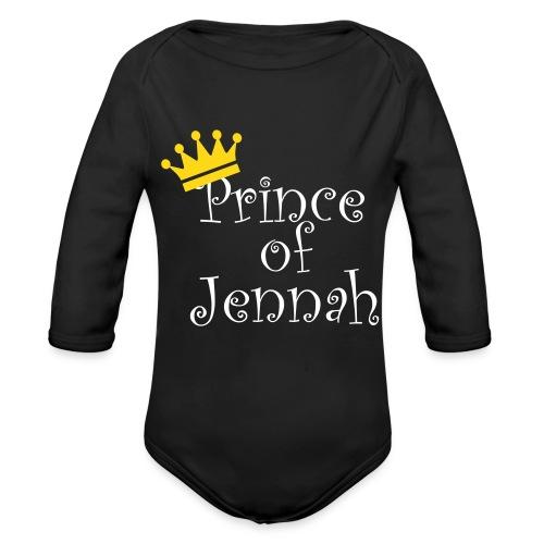 Prince of Jennah Babybody - Baby Bio-Langarm-Body