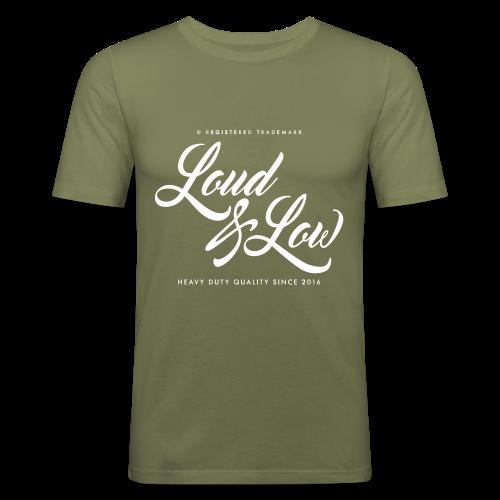 Miesten tyköistuva Loud & Low t-paita - Miesten tyköistuva t-paita
