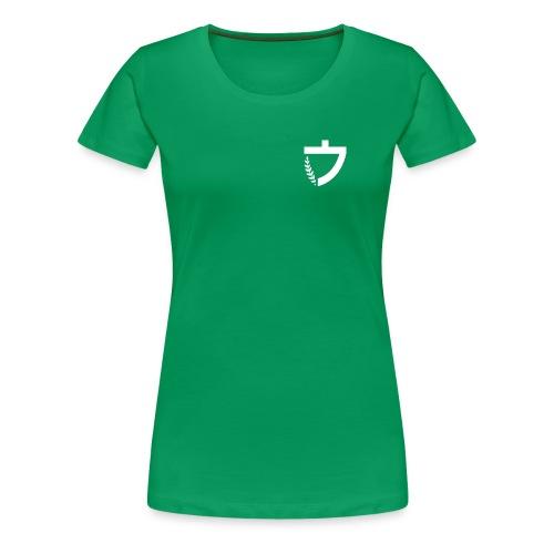 Caelus green women's tee - Women's Premium T-Shirt