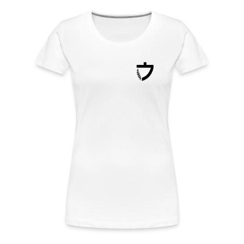 Caelus white women's tee - Women's Premium T-Shirt