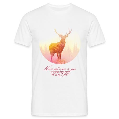 Deer mannen t-shirt - Mannen T-shirt