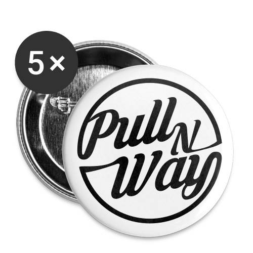 Pull n Way - Buttons Small - Buttons klein 25 mm (5er Pack)