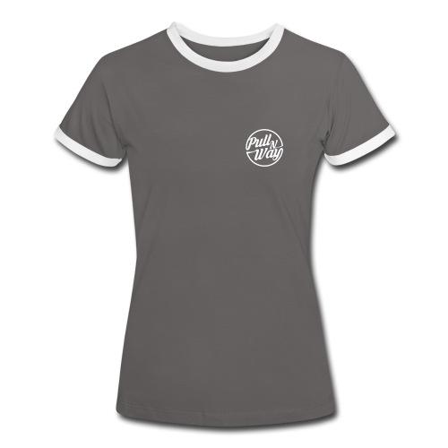 Pull n Way - Kontrast T-Shirt Women - Frauen Kontrast-T-Shirt