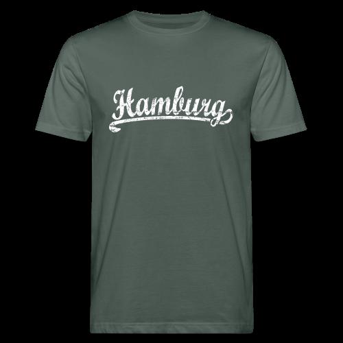 Hamburg Klassik (Vintage Weiß) Bio T-Shirt - Männer Bio-T-Shirt