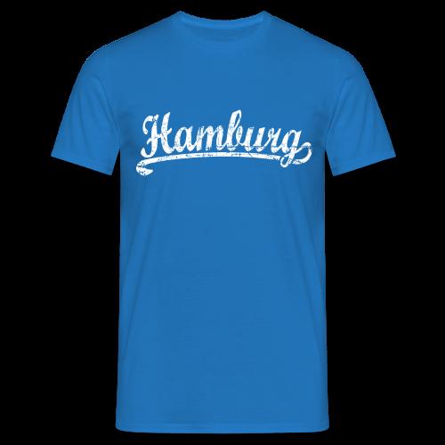 Hamburg Klassik (Vintage Weiß) T-Shirt - Männer T-Shirt