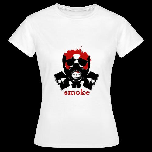 Smoke RKG woman - Frauen T-Shirt