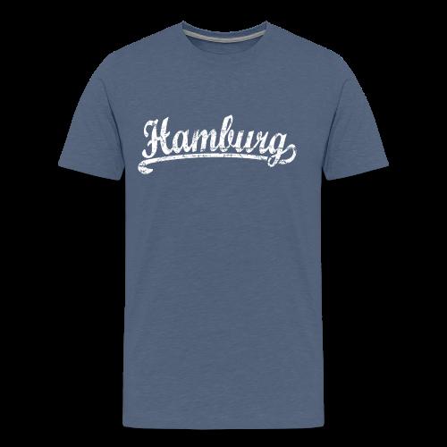 Hamburg Klassik (Vintage Weiß) S-5XL T-Shirt - Männer Premium T-Shirt