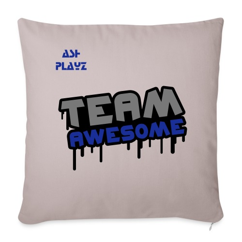 team awesome pillow cover 44x44cm - Sofa pillowcase 17,3'' x 17,3'' (45 x 45 cm)