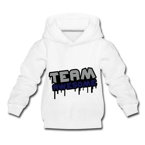 unisex kids hoodie team awesome - Kids' Premium Hoodie