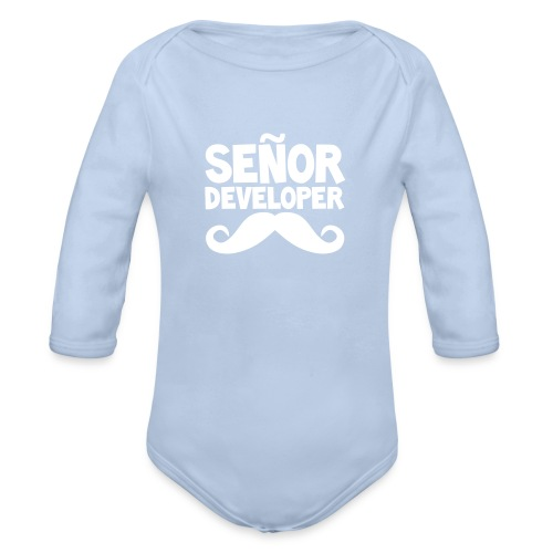 The Señor Junior - Organic Longsleeve Baby Bodysuit