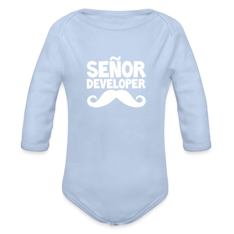The Señor Junior - Longlseeve Baby Bodysuit