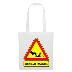 Dérapages possibles (Dogo) - Tote Bag
