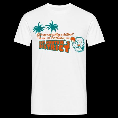 HatHunter x Dolphins - Männer T-Shirt