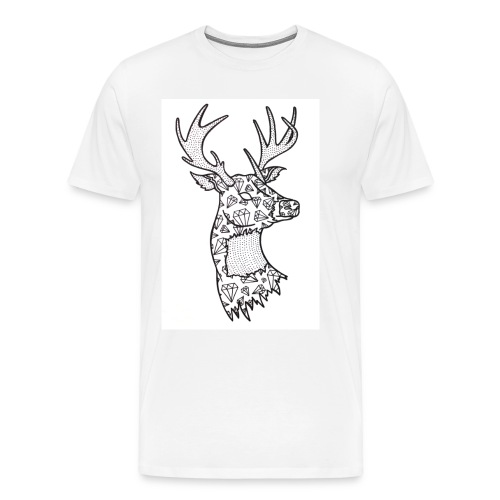 DIAMOND STAG - Men's Premium T-Shirt