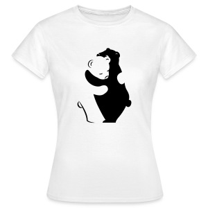 Bears Hugging T-Shirts - Frauen T-Shirt