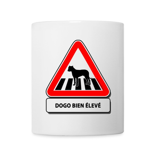 Dogo bien élevé - Mug blanc