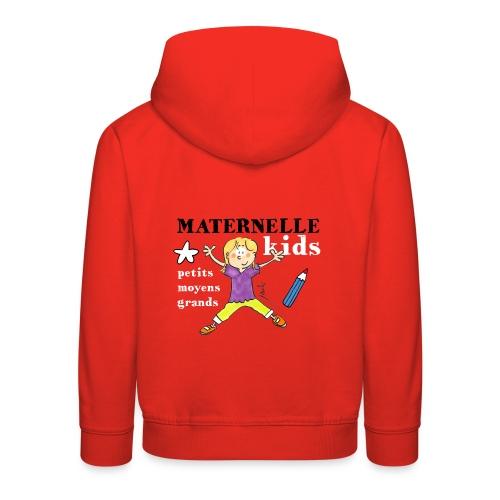Pull capuche enfant - Maternelle Kids - Pull à capuche Premium Enfant