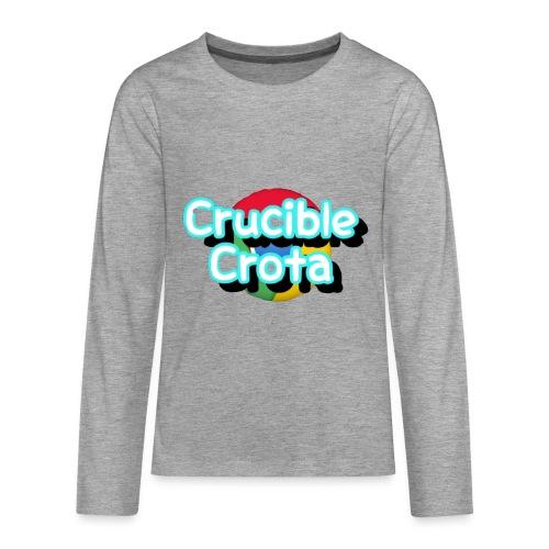 CrucibleCrota Jumper (age 10-12) - Teenagers' Premium Longsleeve Shirt