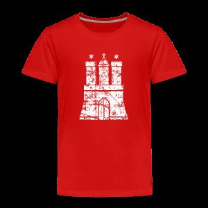 Hamburger Wappen (Vintage) Hamburg Kinder T-Shirt - Kinder Premium T-Shirt