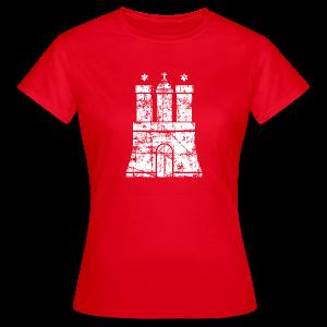Hamburger Wappen (Vintage) Hamburg T-Shirt - Frauen T-Shirt